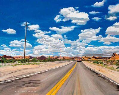 Alain Bertrand, 'Route 66', 2020