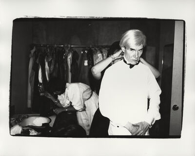 Andy Warhol, 'Andy and Friend', ca. 1982