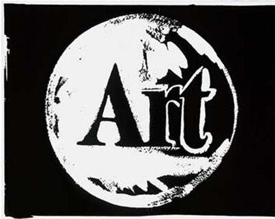 Andy Warhol, 'Art (negative)', 1985-1986