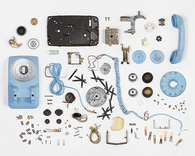 Christian Patterson, 'Telephone Deconstruction #1', 2009