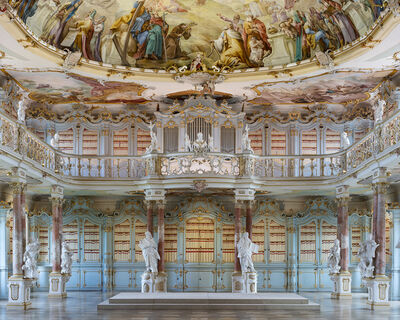 Reinhard Gorner, 'Schussenried Abbey Library, Germany', 2018