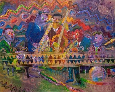 Wadsworth Jarrell, 'Miles Davis Quintet', 1992