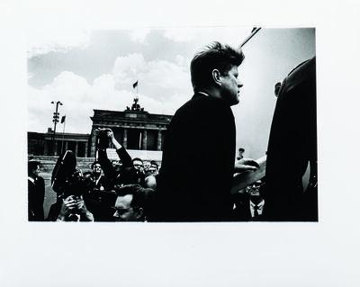 Will McBride, 'John F. Kennedy before the Brandenburg Gate, Berlin', 1963