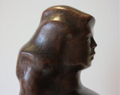 Chaim Gross, 'Woman Brushing Hair', ca. 1930