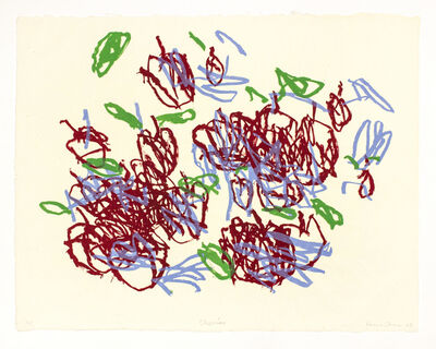 Louisa Chase, 'Cherries', 2003