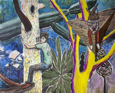 Yuichi Hirako, 'Tree Climbing 5', 2014
