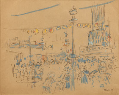 John Marin (1870-1953), 'Carnival No. 3', 1905