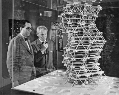 Louis Kahn, 'City Tower (model)', 1958