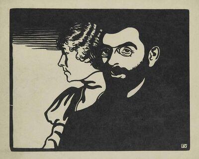 Félix Vallotton, 'Mogens Ballin et sa Femme', 1898