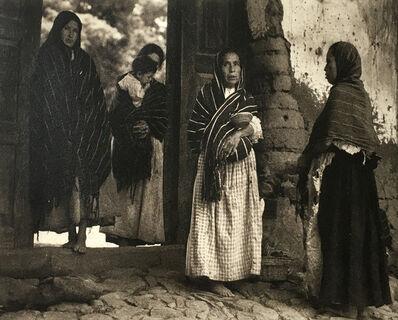Paul Strand, 'Women of Santa Anna, Michoacan', 1933