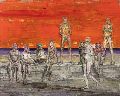 Undine Bandelin, 'Die Promenade (the promenade)', 2020