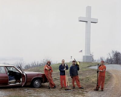 Alec Soth, 'Fort Jefferson Memorial Cross', 2002