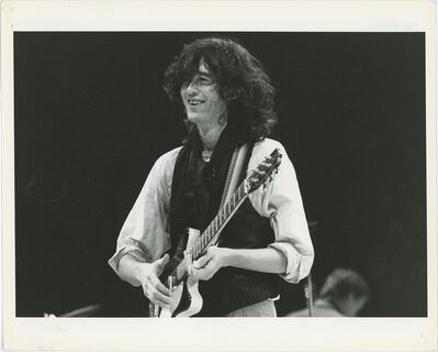 Globe Photo Archives, 'Jimmy Page A.R.M.S Concert 1984', 1984
