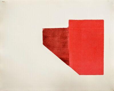 Benji Rowan, 'Red Box With Shadow', 2020
