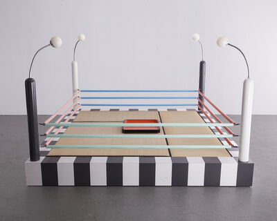 "Masanori Umeda, '""Tawaraya"" boxing ring sculptural seating unit. ', 1981"