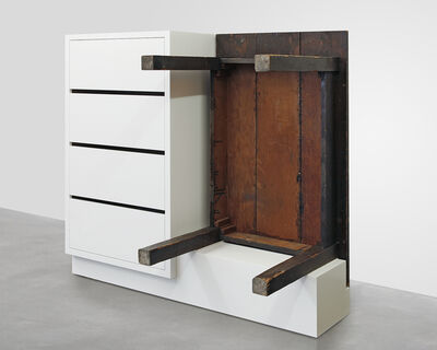 Roy McMakin, 'Chest of Drawers with Table', 2016