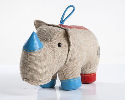 """Renate Müller, 'Medium """"Therapeutic Toy"""" Rhinoceros', 1969/2012"""