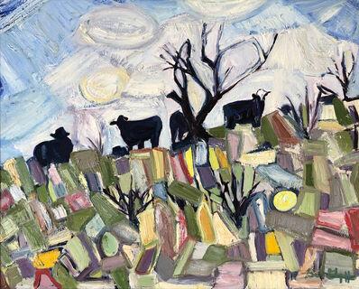 Bob Grignaffini, 'Hillside Grazers I', 2009