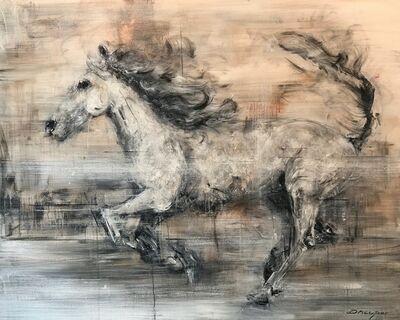 Daniel Hooper, 'The White Horse', 2019