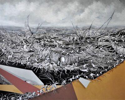 José Benítez Montilla, 'Fragatas en construcción ', 2018