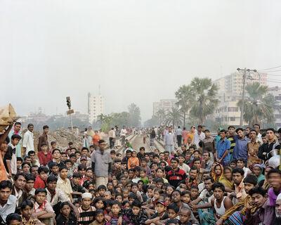 Jim Goldberg, 'I Asked Who Wanted To Go To Europe, Dhaka, Bangladesh', 2007