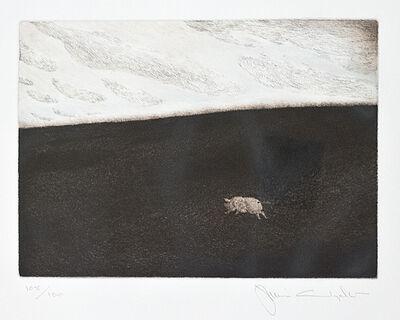 Jamie Wyeth, 'Runaway Pig', 1980