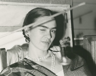 Lucienne Bloch, 'Frida Winking', 1933