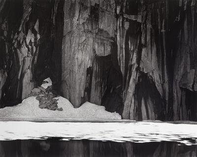 Ansel Adams, 'Frozen Lake and Cliffs', 1932