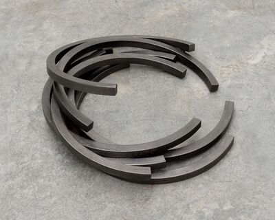 Bernar Venet, 'Effondrement: 226.5° Arc x 7', 2012