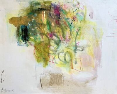 Beth Hammack, 'Beth's Pot of Gold Flowers', 2021