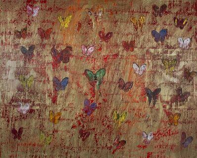 Hunt Slonem, 'Swallowtail (CHL2067)', 2014