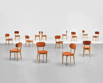 Ico Parisi, 'Set of fourteen dining chairs, model no. 691', circa 1955
