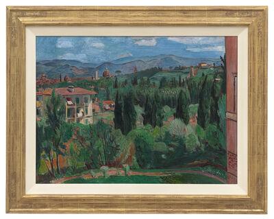 Hans Purrmann, 'Blick über Florenz', 1935