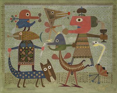 Victor Brauner, 'Sevrage du Moi ', 1949