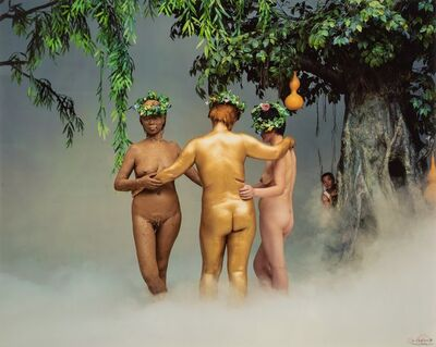 Wang Qingsong, 'Three Graces', 2002