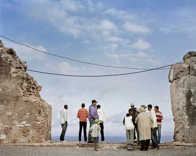 Dawit L. Petros, 'Confrontation (The always incomplete construction of thresholds), Tangier, Morocco', 2016