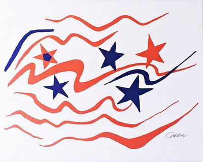 Alexander Calder, 'With Flying Colors', 1976