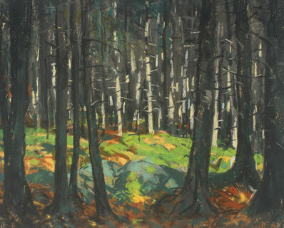Robert Henri, 'Sunlight in the Woods', 1918