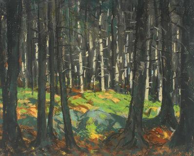 Robert Henri, 'Sunlight in the Woods', 1918