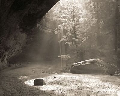 Frank Hunter, 'Morning Light, Ash Cave'