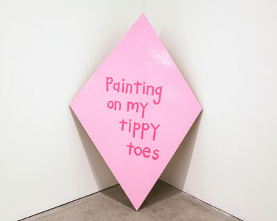 """Cary Leibowitz (""""Candy Ass""""), 'Painting on My Tippy Toes', 2013"""