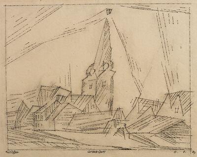 Lyonel Feininger, 'Gaberndorf', 1927