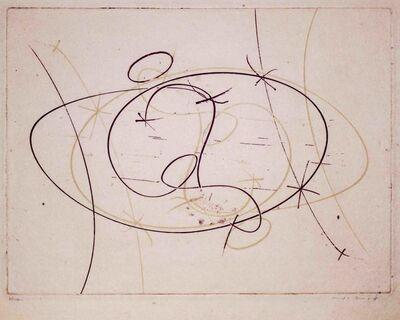 Max Ernst, 'Hommage à Roger Lacourière', 1968