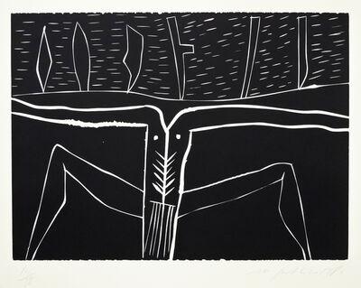 Mimmo Paladino, 'Terra Tonda Africana No 5', 1986