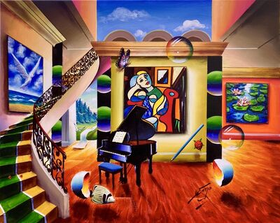 Ferjo, 'Calling Picasso', ca. 2000