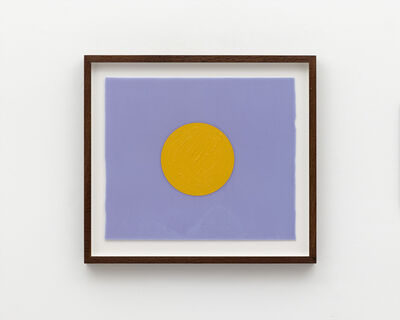 Mads Gamdrup, 'Light violet and warm yellow', 2020