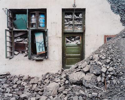 Edward Burtynsky, 'Wushan #3, Yangtze River, China', 2002