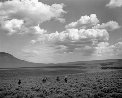 Kurt Markus, 'Whitehorse Ranch, Fields, Oregon', 1984