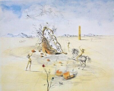 Salvador Dalí, 'Cosmic Horseman', ca. 2000