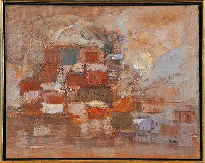 Merton D. Simpson, 'Wall Landscape', 1958